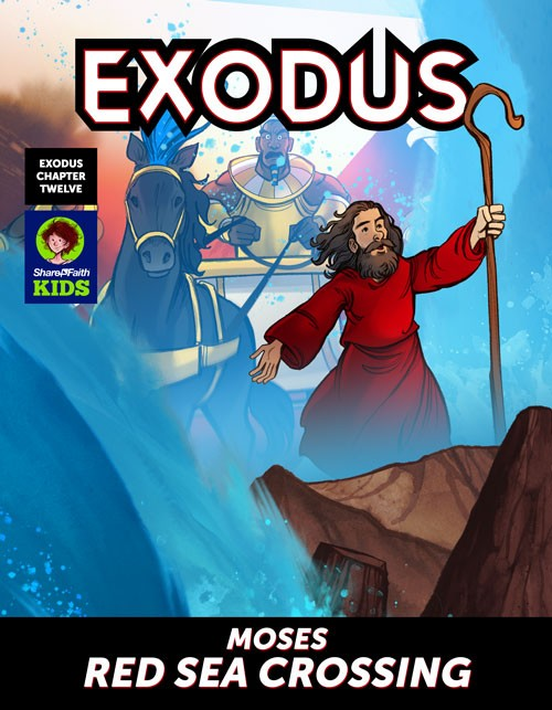 Exodus 12 Moses and The Red Sea Digital Comic