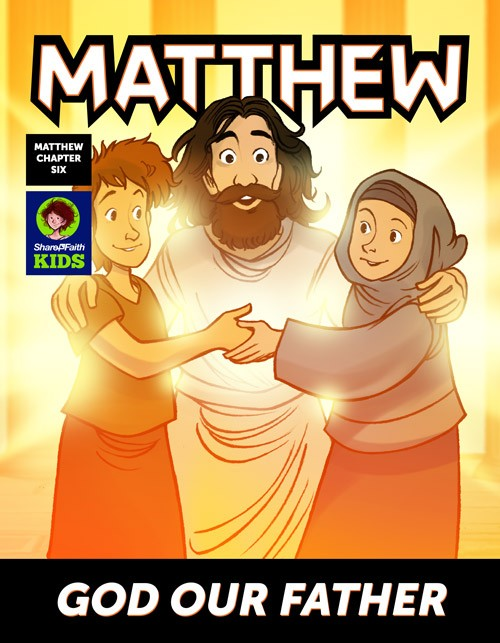 Matthew 6 God Our Father Digital Comic