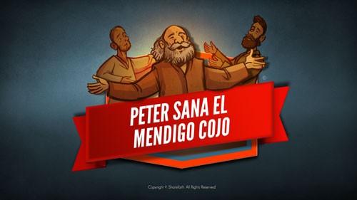 Hechos 3 Pedro sana al cojo Video bíblico para niños