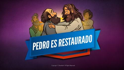 Juan 21 Pedro es restaurado Video bíblico para niños