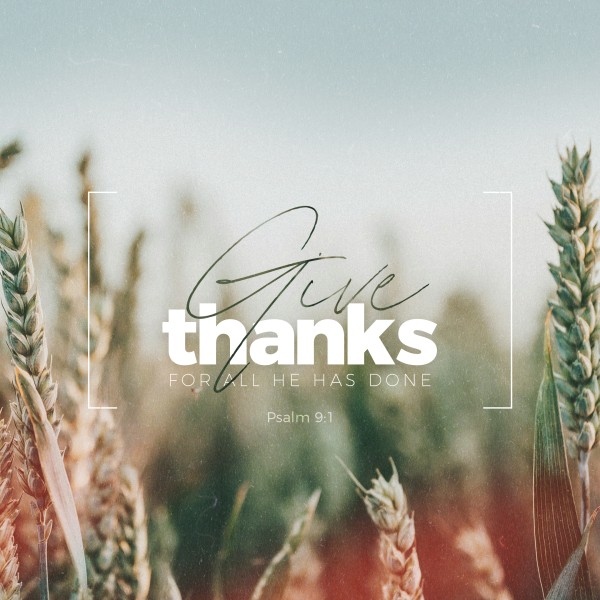 Give Thanks Field Social Media Graphic