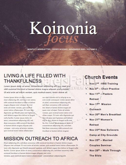 I Am Church Newsletter