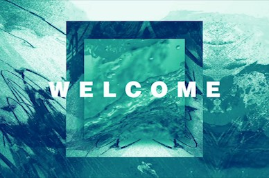 Baptism Sunday Green Church Welcome Video