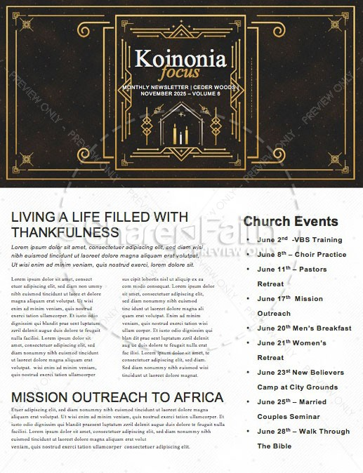 Advent Great Expectations Church Newsletter