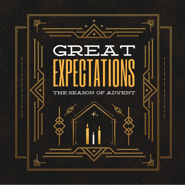 Advent Great Expectations Church Social Media Graphic