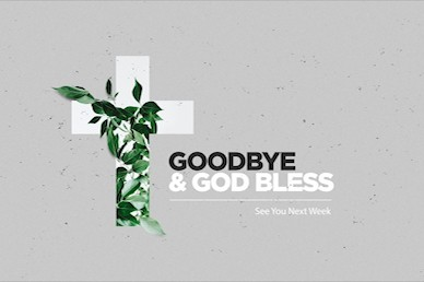 Communion Sunday Cross Church Goodbye Video