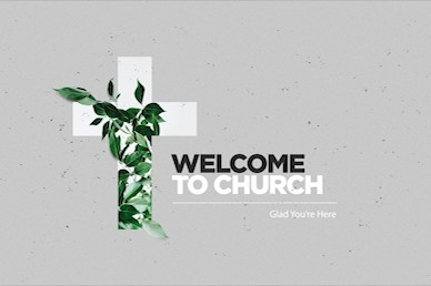 Communion Sunday Cross Welcome Church Video
