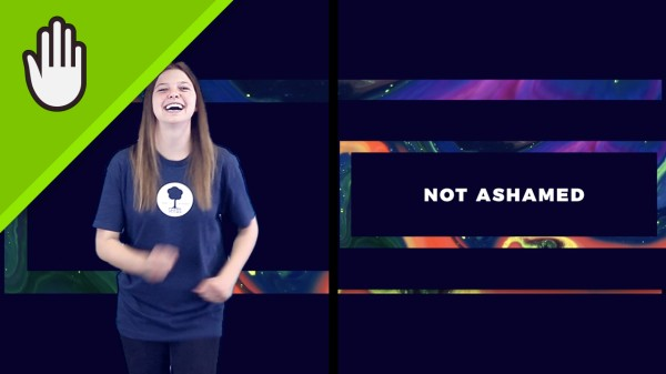 Not Ashamed Kids Worship Video Hand Motions Split Screen
