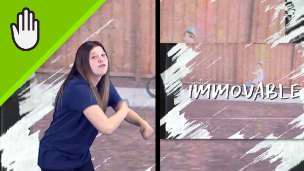 Immovable Kids Worship Video Hand Motions Split Screen