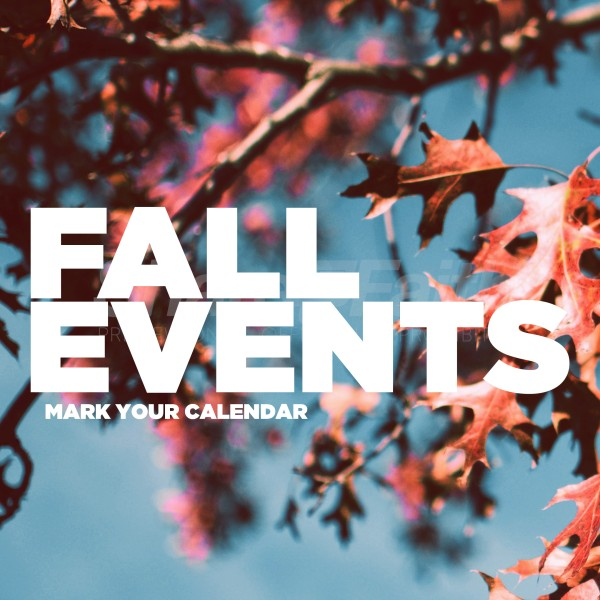 Fall Events Social Media Graphic