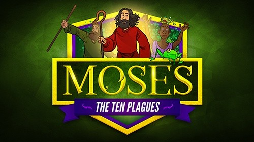 Moses and The Ten Plagues Kids Bible Video