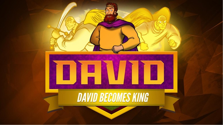 2 Samuel 5 David Becomes King Kids Bible Story