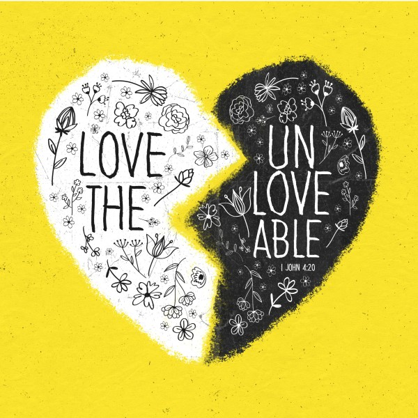 Unloveable Church Social Media Graphic