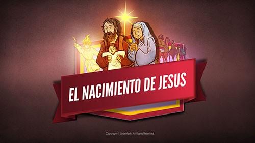Video bíblico del nacimiento de Jesús para niños