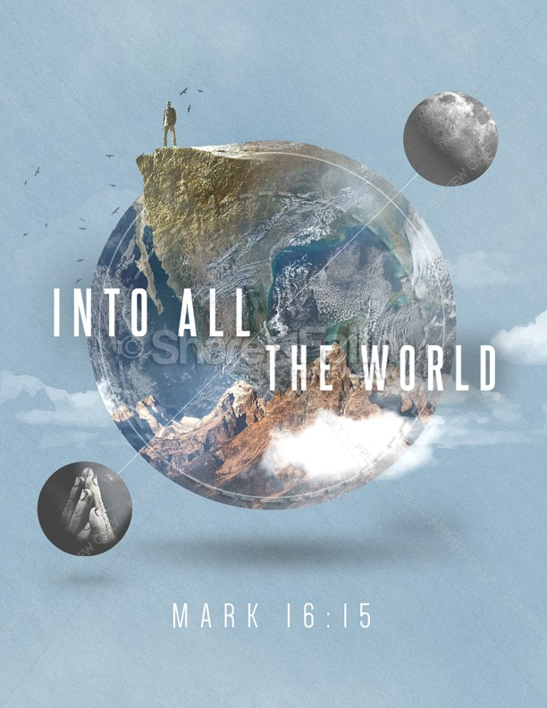 Into All The World Church Flyer