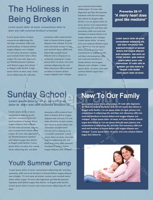 Into All The World Church Newsletter | page 2