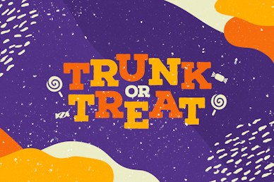 Purple Trunk Or Treat Title Church Video