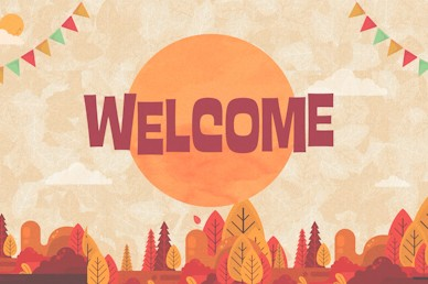 Autumn Harvest Party Welcome Church Video