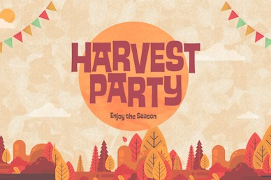 Autumn Harvest Party Title Church Video