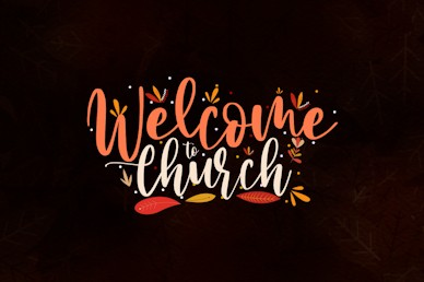 Happy Thanksgiving Brown Welcome Church Video