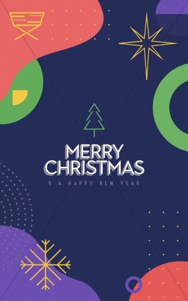 Christmas Eve Online Church Bifold Bulletin