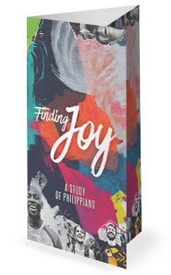 Finding Joy Church Trifold Bulletin