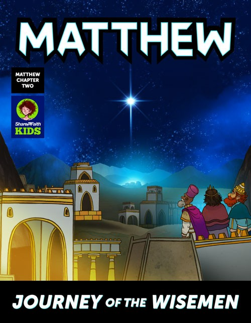 Matthew 2 Journey of the Wise Men: The Magi Christmas Story Digital Comic