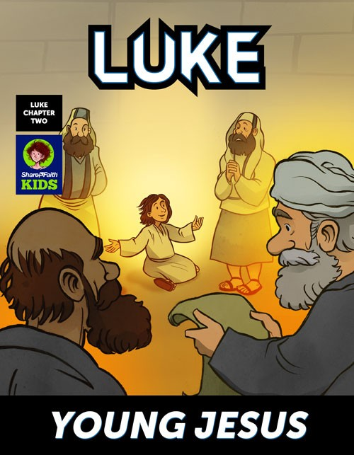 Young Jesus Digital Comic