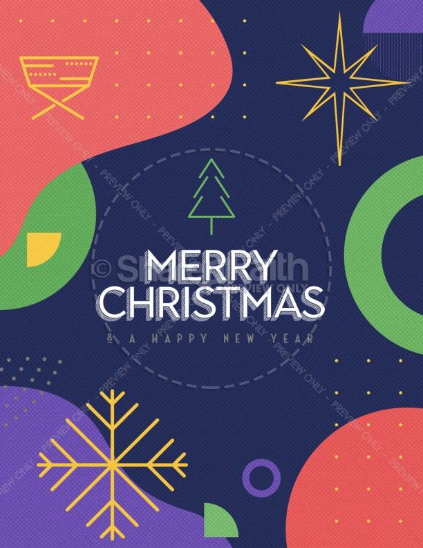 Christmas Eve Online Church Flyer