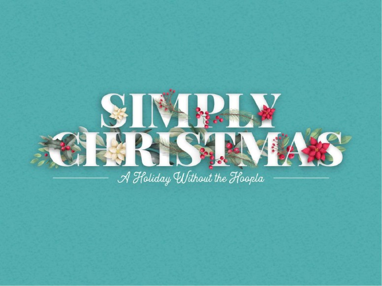 Simply Christmas Church PowerPoint
