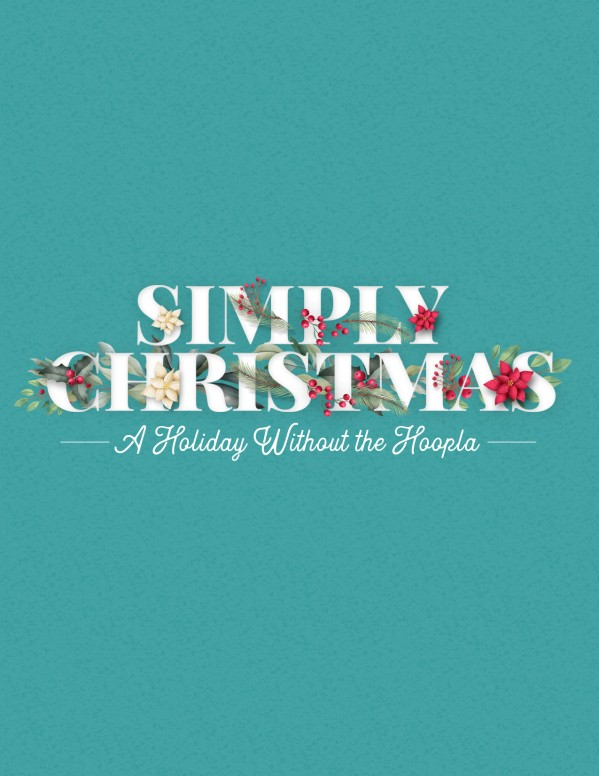 Simply Christmas Church Flyer