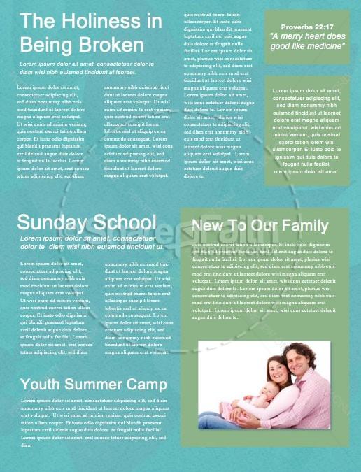 Simply Christmas Church Newsletter