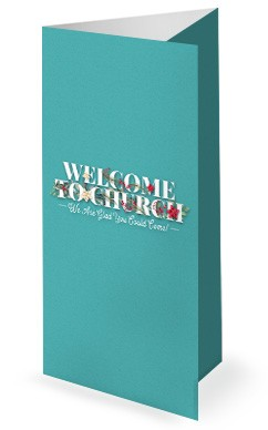 Simply Christmas Church Trifold Bulletin