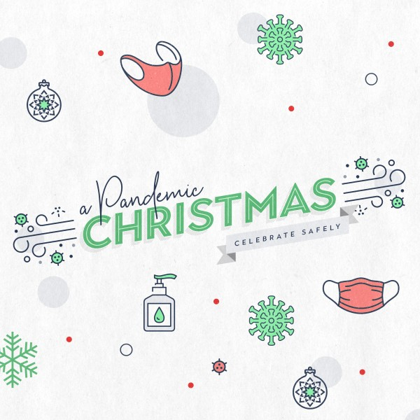 Pandemic Christmas Social Media Graphic