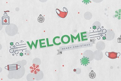 Pandemic Christmas Welcome Church Video