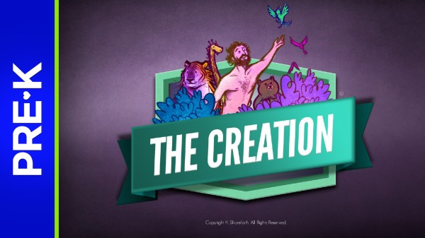 Genesis 1 The Creation Story Preschool Bible Video