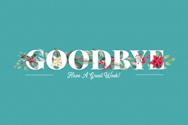 Simply Christmas Goodbye Church Video