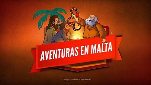 Hechos 28 Aventuras en Malta Video bíblico para niños