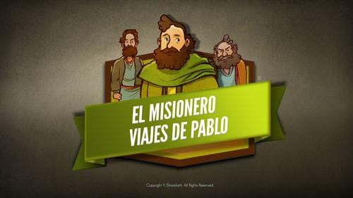 Video bíblico de los viajes misioneros de Pablo para niños
