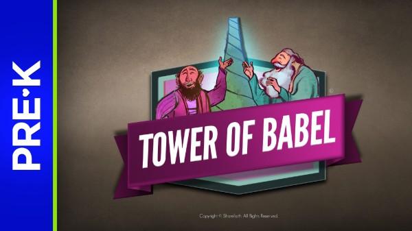 Genesis 11 Tower of Babel Preschool Bible Video