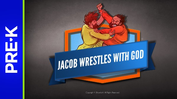 Genesis 32 Jacob Wrestles with God Preschool Bible Video