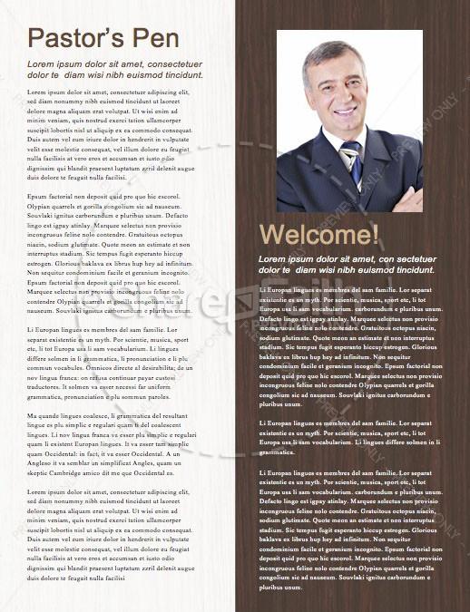 Home For Christmas Church Newsletter