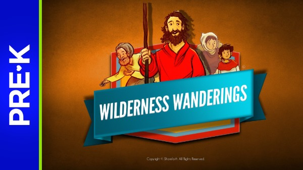 Exodus Wilderness Wanderings Preschool Bible Video