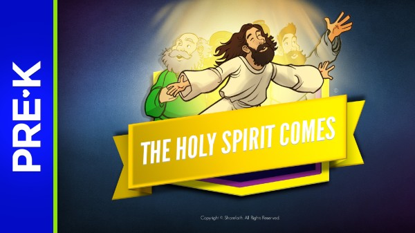 Acts 2 The Holy Spirit Comes Preschool Bible Video