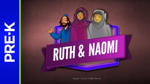 Ruth and Naomi Preschool Bible Video