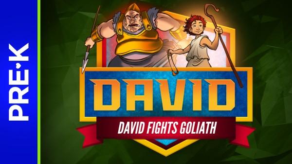 1 Samuel 17 David and Goliath Preschool Bible Video