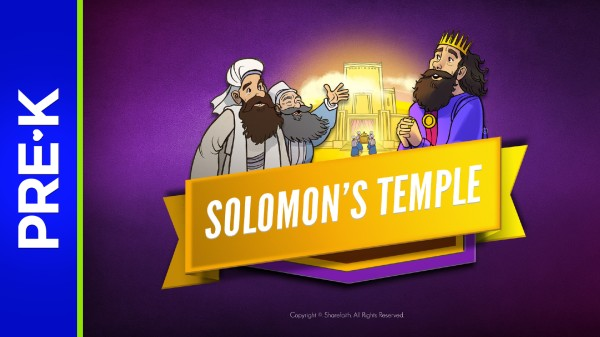 1 Kings 8 Solomons Temple Preschool Bible Video