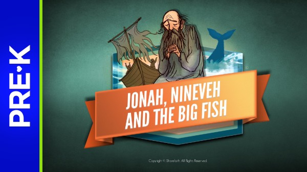 Jonah and the Whale Preschool Bible Video