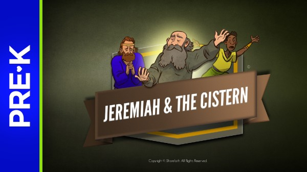 Jeremiah 38 The Prophet Jeremiah Preschool Bible Video