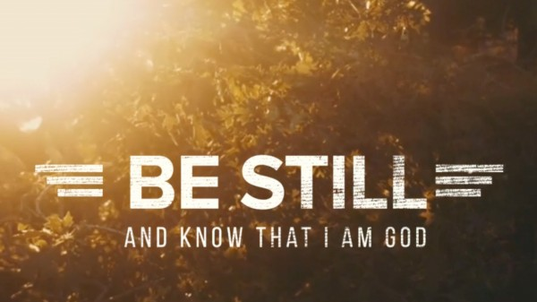 Be Still Preschool Worship Video